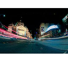 Flinders Street Photographic Print