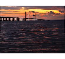 Whisky Sunset Photographic Print