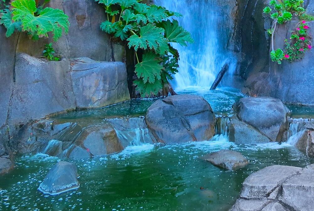 Waterfall  by David Denny