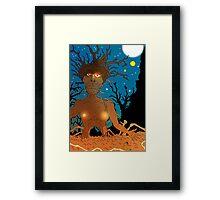Tree Fella Framed Print