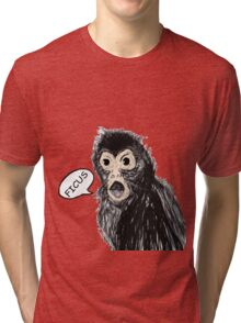 Talking Monkey from the Future Tri-blend T-Shirt