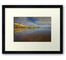 Port View Framed Print