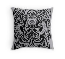 Cosmic Buddha  Throw Pillow