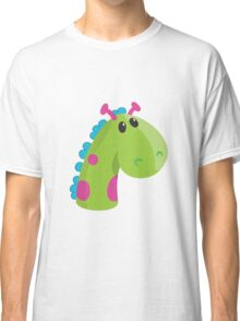 Sea Monster in Green (head) Classic T-Shirt