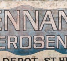 Pennant Kerosene Sticker