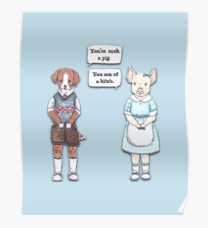 Animal Puns Poster