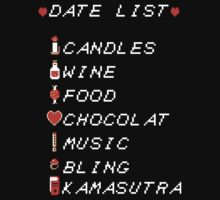 Date List for Geeks by Vinchtef