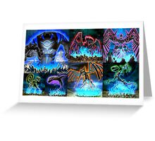 Fan art Yu gi oh 5ds Greeting Card