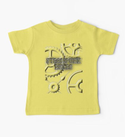 Steampunk Rules Baby Tee