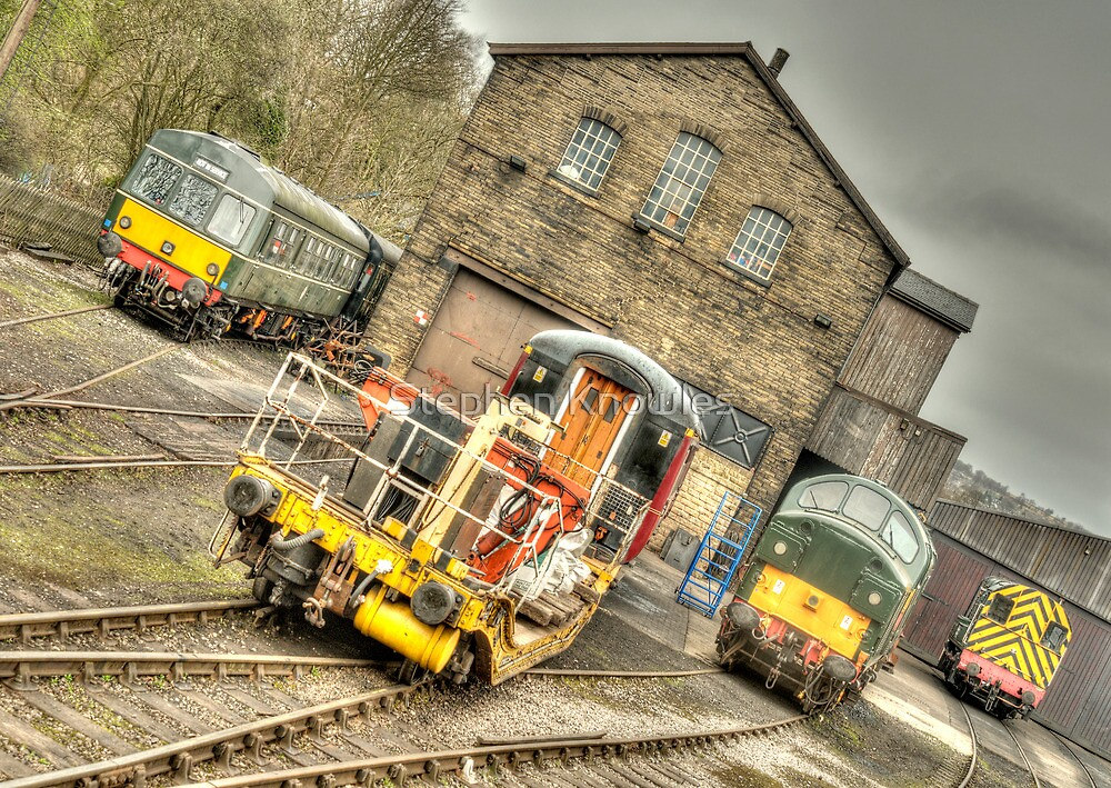 Worth Valley Railway (HDR) by Stephen Knowles