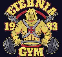 Eternia Gym by jozvozdesign