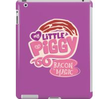 My Little Piggy - Bacon is Magic iPad Case/Skin