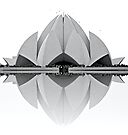 Lotus Temple by Fern Blacker