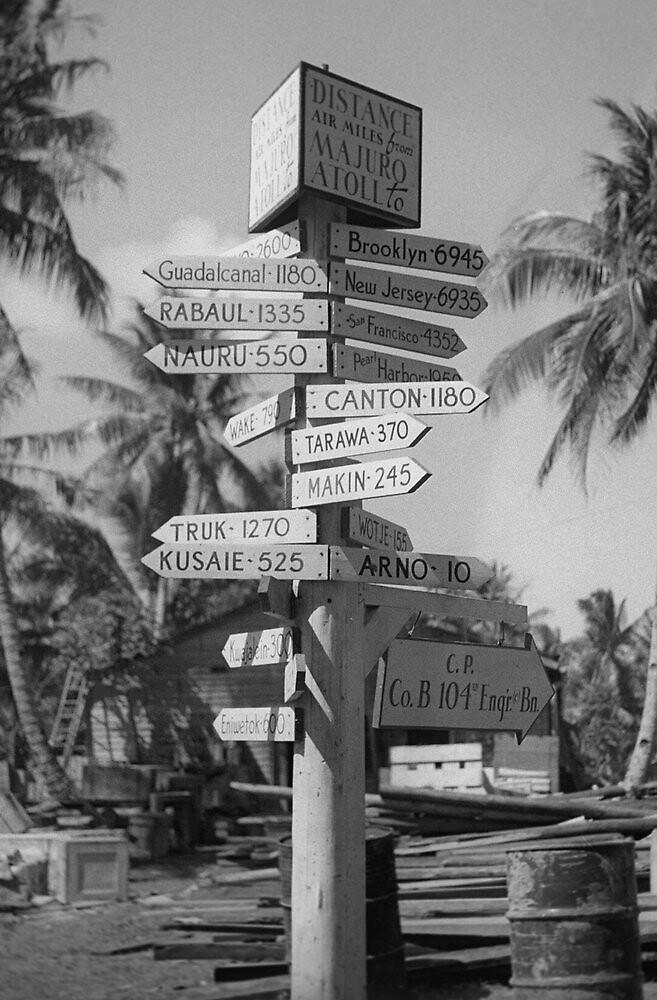 Majuro Atoll 1944 by Henri Bersoux