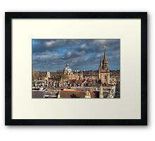 Oxford Skyline Framed Print