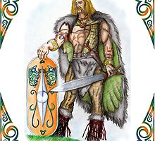 Drawing of Vercingetorix by TheUlsterHound