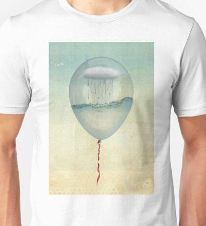 the cloud half full Unisex T-Shirt