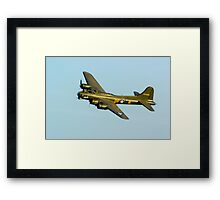 Boeing B17 Sally B Framed Print