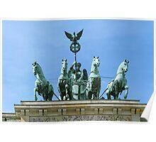 Brandenburg Gate Quadriga Berlin Poster