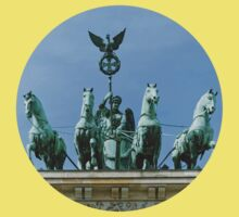 Brandenburg Gate Quadriga Berlin Kids Clothes