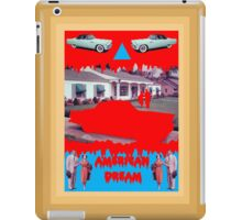 AMERICAN DREAM (?) iPad Case/Skin