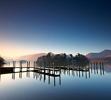 Dawn at Derwentwater by Jeanie
