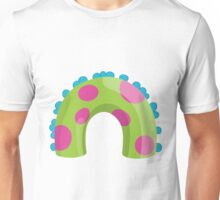 Sea Monster in Green (body) Unisex T-Shirt