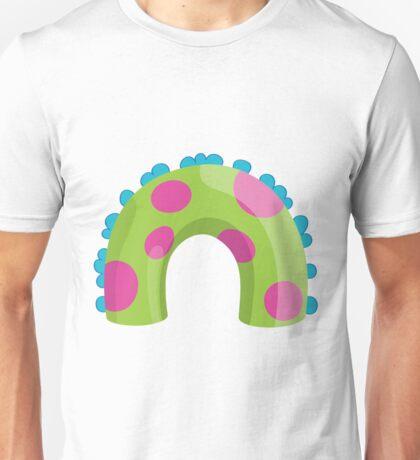 Sea Monster in Green (body) Unisex T-Shirt