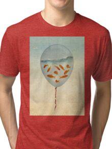 balloon fish 02 Tri-blend T-Shirt