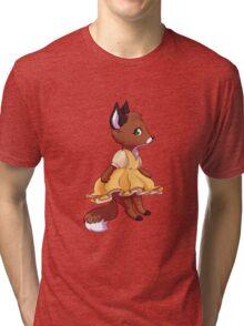 Cute fox girl Tri-blend T-Shirt