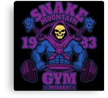 Snake Mountain Gym Canvas Print