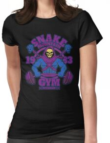 Snake Mountain Gym Womens Fitted T-Shirt