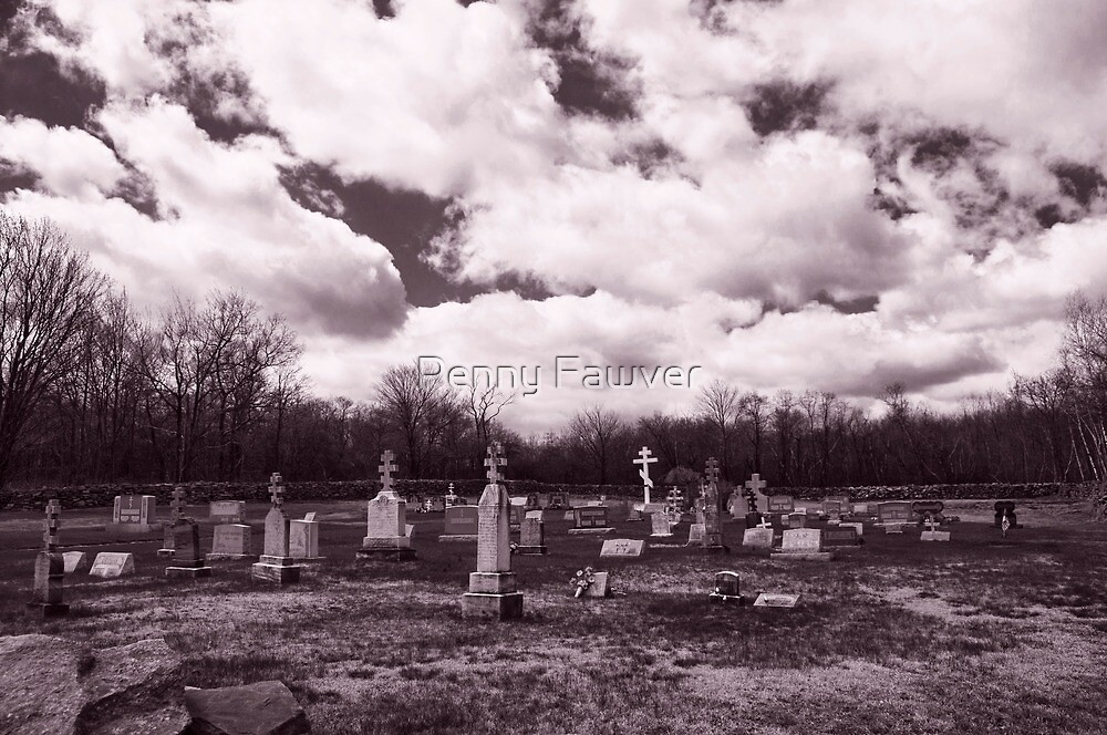 Centralia Cemetery by Penny Rinker