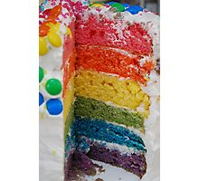 Any one for a slice of a rainbow!? Photographic Print