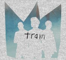Train - Band Outline - Crown - Golden Gate Bridge - San Francisco by ILoveTrain