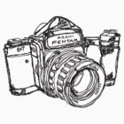 Pentax 6X7 Medium Format Camera by strayfoto