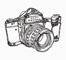 Pentax 6X7 Medium Format Camera T-Shirt