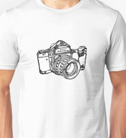 Pentax 6X7 Medium Format Camera Unisex T-Shirt