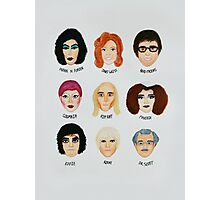 Rocky Horror Tribute Photographic Print