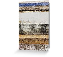 Urban layers Greeting Card