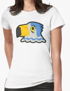PIERCE ANIMAL CROSSING  Womens Fitted T-Shirt