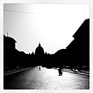 Vatican City in Black and White by Guilherme Pontes