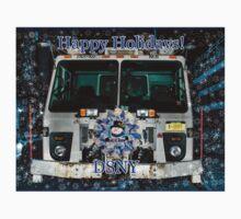 Happy Holidays DSNY Kids Tee
