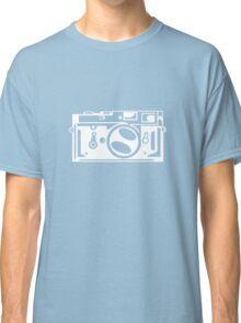 Classic Leica M3 Camera Design WHITE INK for DARK TEES Classic T-Shirt