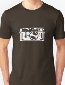 Classic Leica M3 Camera Design WHITE INK for DARK TEES T-Shirt
