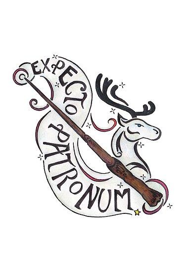 Expecto Patronum by CrimsonArchive