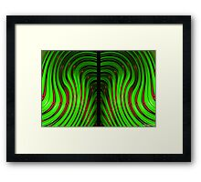 Modeling (Composition XY COLORS 12)  Framed Print