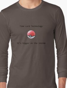 Time Lord Technology Pokeball Long Sleeve T-Shirt