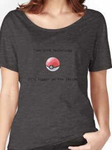 Time Lord Technology Pokeball Women's Relaxed Fit T-Shirt