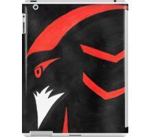 Shadow the Hedgehog - Abstract iPad Case/Skin